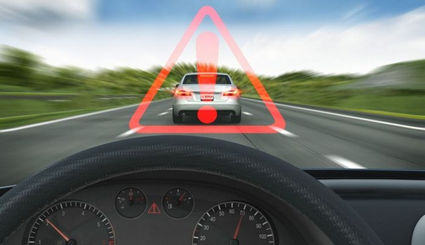 Cars will soon have automated systems that sense danger ahead and apply the brakes without driver intervention. (Bosch photo)