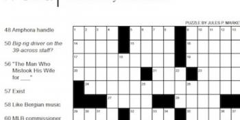Car Talk crossword puzzle NY Times